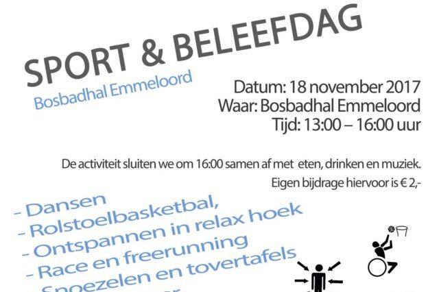 Sport & Beeld Flyer